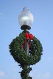De Lichte Kroon van Kerstmis Royalty-vrije Stock Foto's
