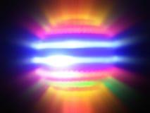 De lichte Orb Rotatie van het Onduidelijke beeld Stock Afbeeldingen