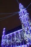 De lichte parade van Brussel Stock Afbeelding