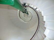 De lichte spiraalvormige stappen van de huistoren Royalty-vrije Stock Fotografie