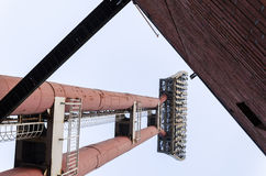 De lichte toren van stadion Royalty-vrije Stock Afbeelding