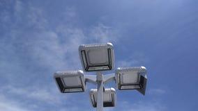De lichten met hemel twee Royalty-vrije Stock Foto
