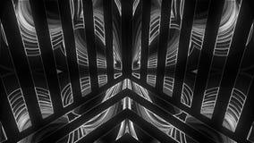 De lichten tonen abstractie met het gloeien effect, 3d geef computer geproduceerde achtergrond terug royalty-vrije illustratie