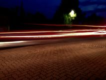 De lichten van de auto Royalty-vrije Stock Fotografie