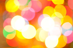 De lichten van Blured Royalty-vrije Stock Fotografie