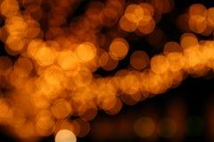 De Lichten van Blured Royalty-vrije Stock Foto