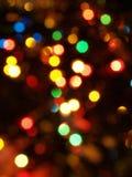De lichten van Blured grote dark als achtergrond Royalty-vrije Stock Afbeelding