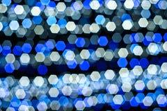 De lichten van Bokeh Stock Foto