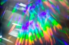 De lichten van Bokeh Stock Afbeeldingen