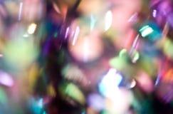 De lichten van Bokeh Stock Foto's