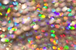 De lichten van Bokeh Stock Fotografie