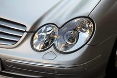 De lichten van de auto Stock Fotografie