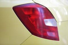 De lichten van de auto Stock Afbeelding