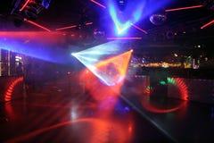 De lichten van de disco Stock Fotografie