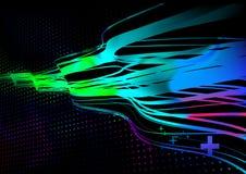 De lichten van de disco vector illustratie