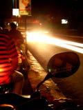 De Lichten van de fiets Stock Afbeeldingen
