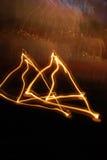 De Lichten van de kaars Stock Afbeeldingen