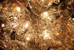 De lichten van de kroonluchter Stock Afbeelding