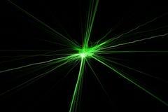 De lichten van de laser Royalty-vrije Stock Afbeeldingen