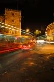 De lichten van de nacht Stock Afbeelding
