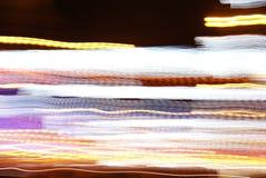De lichten van de nacht Stock Foto
