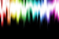 De Lichten van de regenboog Stock Afbeeldingen