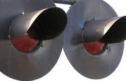 De lichten van de spoorweg Royalty-vrije Stock Foto