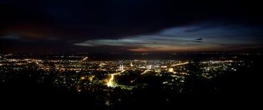 De lichten van de stad Royalty-vrije Stock Foto's