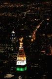De lichten van de stad Stock Afbeeldingen