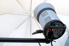 De lichten van de studio Stock Fotografie