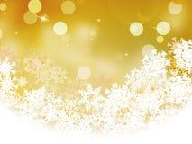 De lichten van de vakantiedefocus van Kerstmis. EPS 8 Stock Fotografie