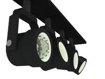 De lichten van de vlek Stock Afbeelding