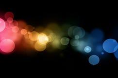 De lichten van Defocused Royalty-vrije Stock Afbeeldingen
