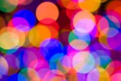 De Lichten van Defocused royalty-vrije stock afbeelding