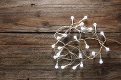 De lichten van de fee Stock Foto
