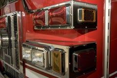De lichten van Firetruck Stock Foto's