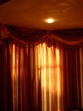 De Lichten van gordijnen n Stock Afbeelding