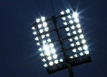 De lichten van het stadion Stock Afbeelding
