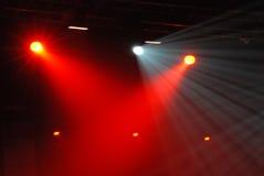 De Lichten van het stadion Stock Afbeeldingen