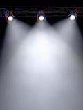 De Lichten van het stadium royalty-vrije illustratie