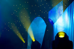 De lichten van het stadium Royalty-vrije Stock Foto's