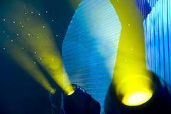 De lichten van het stadium royalty-vrije stock afbeeldingen
