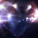 De lichten van het stadium Royalty-vrije Stock Fotografie