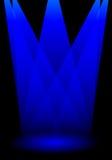 De lichten van het stadium stock illustratie