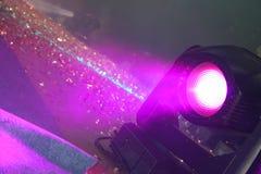 De lichten van het stadium. Op de show Stock Afbeelding