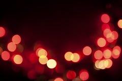 De Lichten van Kerstmis Royalty-vrije Stock Foto