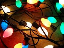 De Lichten van Kerstmis royalty-vrije stock afbeelding