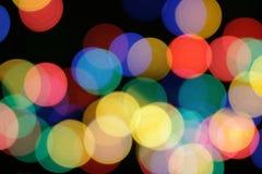 De lichten van Kerstmis Royalty-vrije Stock Foto's