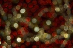 De lichten van Kerstmis Stock Foto's
