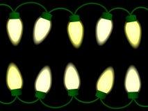De lichten van Kerstmis/van de partij Stock Afbeelding